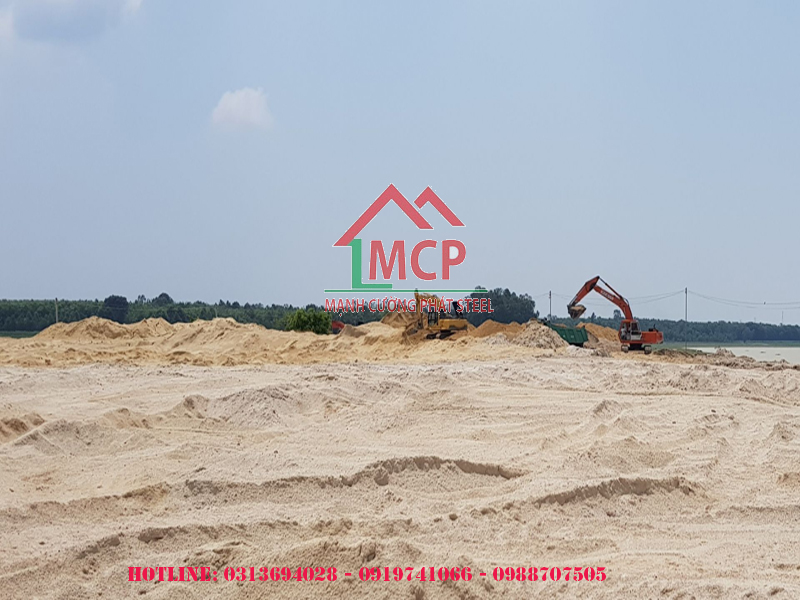 Quotation of construction sand at the end of April 2020