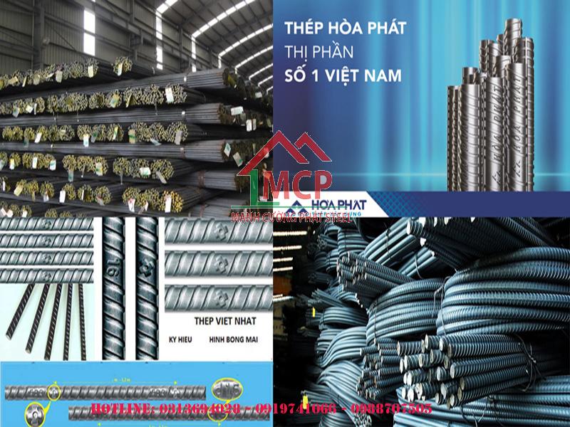 Hoa Phat steel price list built in late April 2020