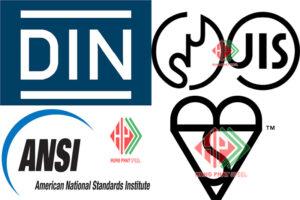 Tiêu chuẩn ANSI - BS - DIN - JIS