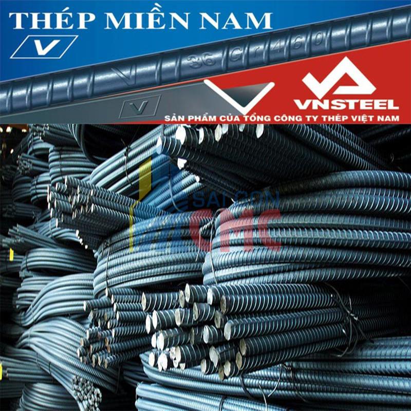 Giá thép Miền Nam phân phối chính hãng