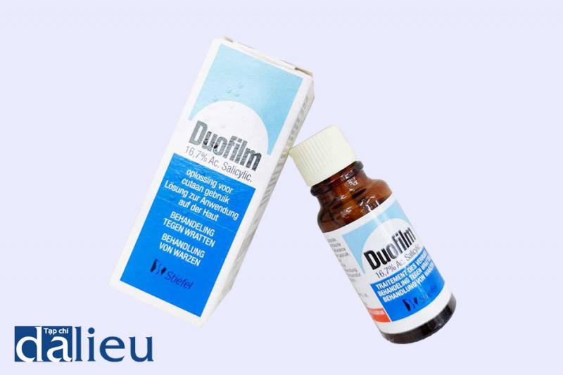 Thuốc được phối hợp bởi 2 thành phần acid salicylic và acid lactic
